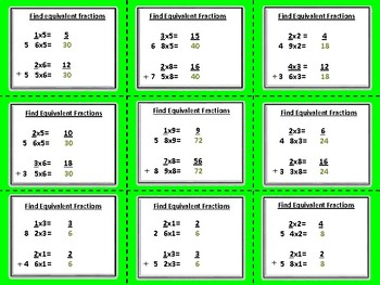 Add and Subtract Mixed Numbers- Task Cards