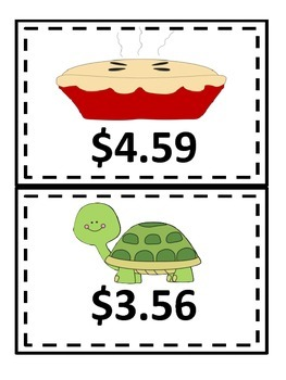 Add and Subtract Money with Regrouping--centers and worksheets