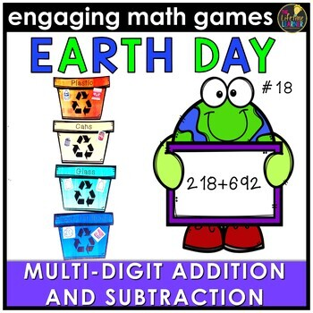 Add and Subtract Multi-Digit Numbers Game