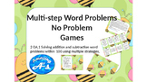 Add and Subtract Multi-Step Word Problem Game