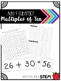 Add and Subtract Multiples of Ten