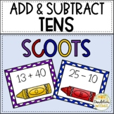 Add and Subtract Multiples of Ten SCOOT Games
