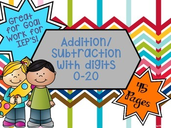 Add and Subtract Numbers 0-20!