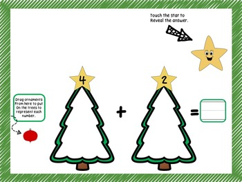 Add and Subtract Smart Board Christmas