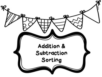 Add and Subtract Sorting
