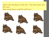 Add and Subtract Story Problems+ Math Humor (15 slides)
