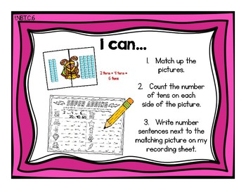 Add and Subtract Tens {Common Core Math Resources}