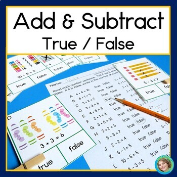 Add and Subtract, True or False