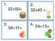 Add and Subtract Two Digit Numbers Without Regrouping--Easter Theme