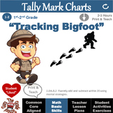 """Add and Subtract Within 20 Activities and Worksheets """"Tracking Bigfoot"""""""