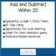 Add and Subtract Within 20: TASK CARDS