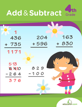 Add and Subtract Workbook