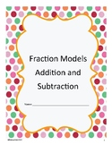 Fraction Models Add and Subtract like fractions