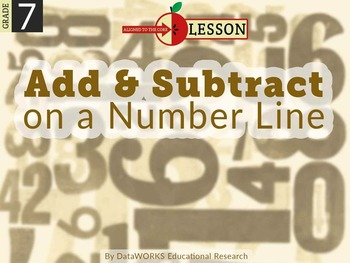 Add and Subtract on a Number Line