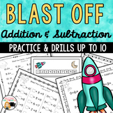 Add and Subtract to 10 {Blast Off}