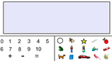 Add and Subtract to 10- Interactive