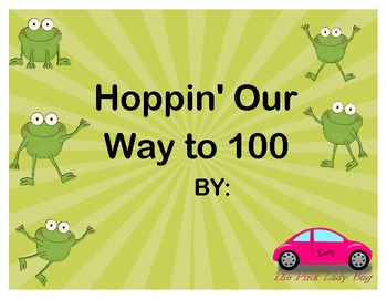 Add and Subtract to 100 Hoppin to 100 days hundredth day