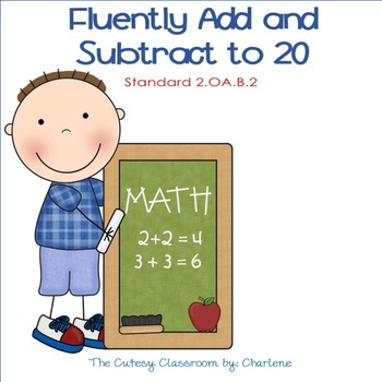 Add and Subtract to 20 CCSS 2.OA.B.2