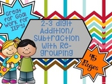 Add and Subtract with Re-grouping!