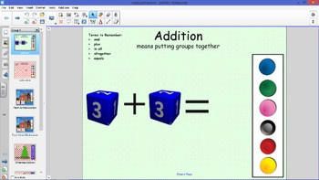 Add and Subtract with Manipulatives