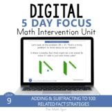 Add and Subtract with Related Fact Strategies 2nd Grade Di