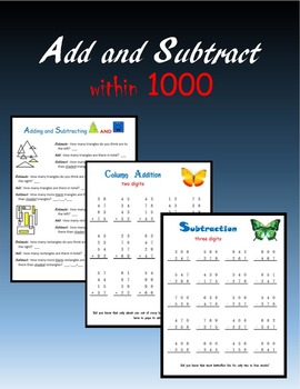 Add and Subtract within 1000
