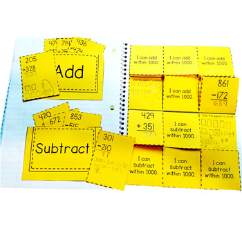 Add and Subtract within 1000: 2.NBT.B.7 Common Core Math 2nd Grade
