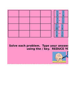 Add and Subtracting Unlike Fractions