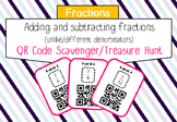 Add and subtract fractions (proper) with unlike denominato