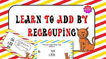 Add by Regrouping PPT, PDF and JPEG