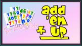 Add 'em Up!  2nd Grade Math: Adding Numbers (2.NBT.B.6 )