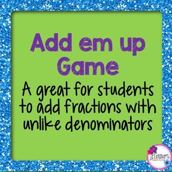 Add em up game