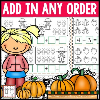 Add in Any Order Worksheets