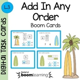 Add in Any Order Boom Cards - Digital Task Cards