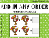Add in Any Order - Interactive Google Slides Activity!