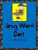 Add -ing Word Sort