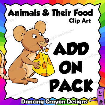 Add-on Pack - Animals and their Food