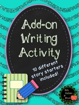 Add-on Writing Activity-NO PREP