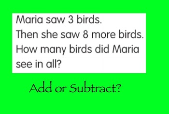 Add or Subtract?