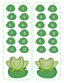 Add or Subtract? Roll and Choose (Frogs)