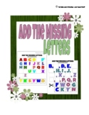 Add the Missing Letters (ABC Sequence)