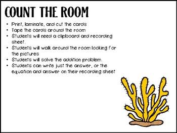 Add the Room - 1-10- Math Center