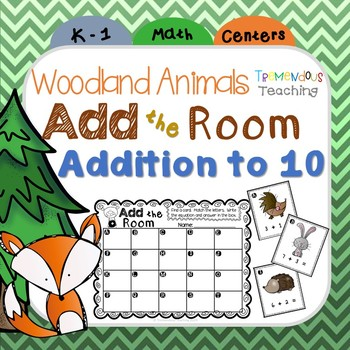Add the Room - Woodland Animals Theme