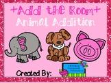 Add the Room (Write the Room-Math) Animal Edition
