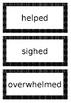 Add the suffix -ed Editable