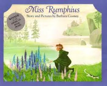 Add this song to a lesson on plants. For Miss Rumphius by Barbara Cooney