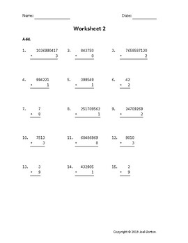Add up to 10 digits to 1 digit (50 worksheets)