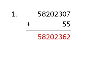Add up to 10 digits to up to 3 digits (50 worksheets)