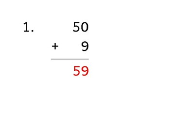 Add up to 10 digits to up to 5 digits (50 worksheets)