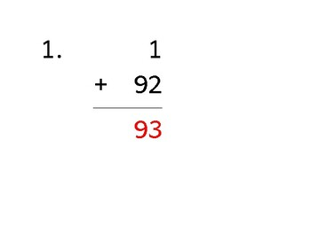 Add up to 4 digits to up to 2 digits (50 worksheets)